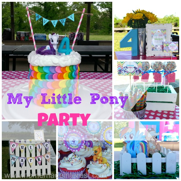My Little Pony Party Home Made Interest