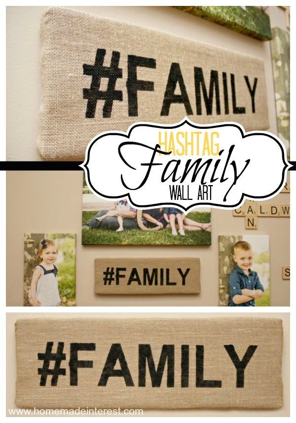 #Family Wall Art- Scrabble Edition {www.homemadeinterest.com}