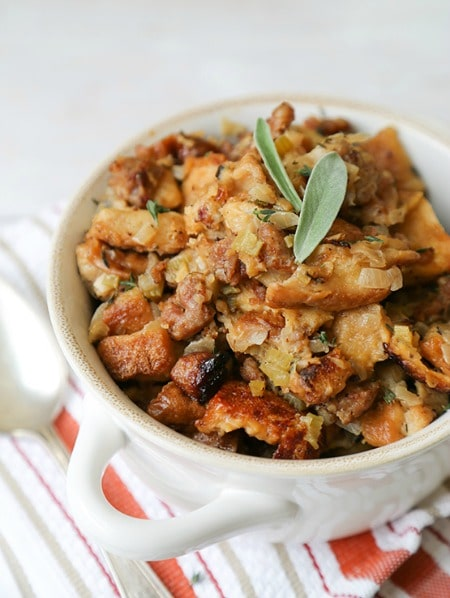 ... family before Thanksgiving dinner with this Slow Cooker Stuffing
