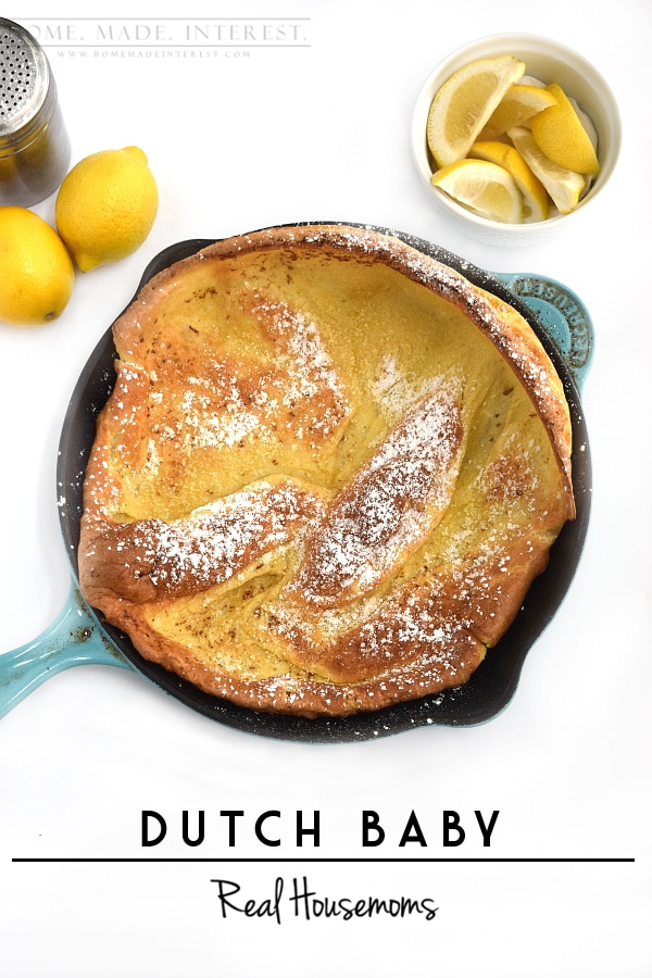 Dutch Baby Recipe on Realhousemoms.com by Kat & Melinda at ...