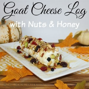 Goat Cheese Appetizer with Nuts and Honey - Home. Made ...