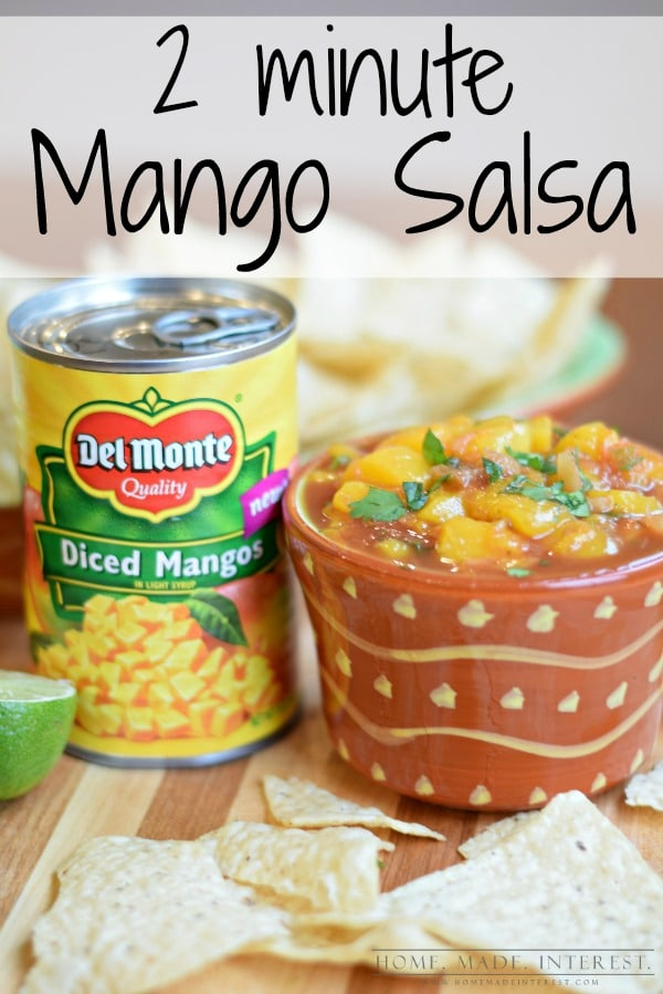 how to make quick salsa