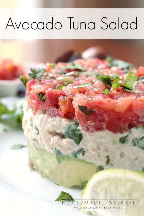 This Tuna Salad Recipe is quick and easy. Perfect for a quick lunch or ...