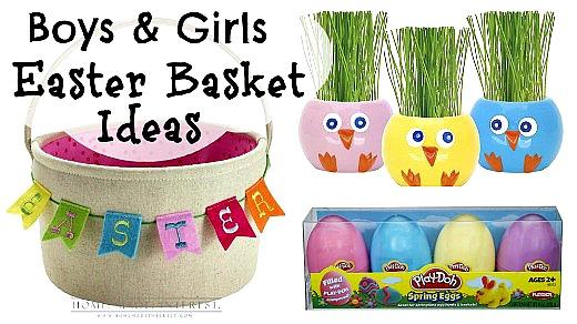 Kids easter basket ideas for little boys girls home made kids easter basket ideas for little boys girls home made interest negle Choice Image