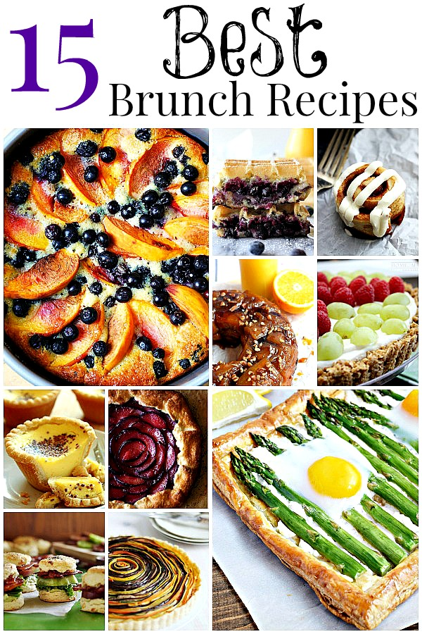 28 best best easy brunch recipes 14 easy brunch for Best brunch menu