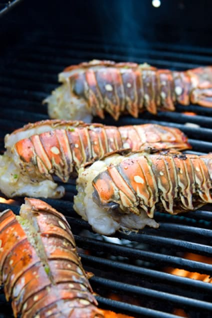 ... my lobster tails in the oven, trying these Grill Lobster Tails next