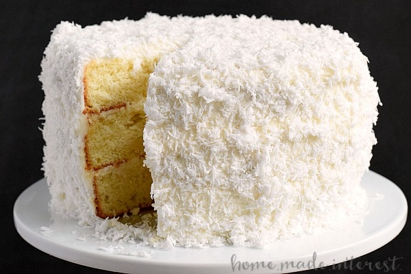 the best coconut cake recipe I've ever made. This easy coconut cake ...