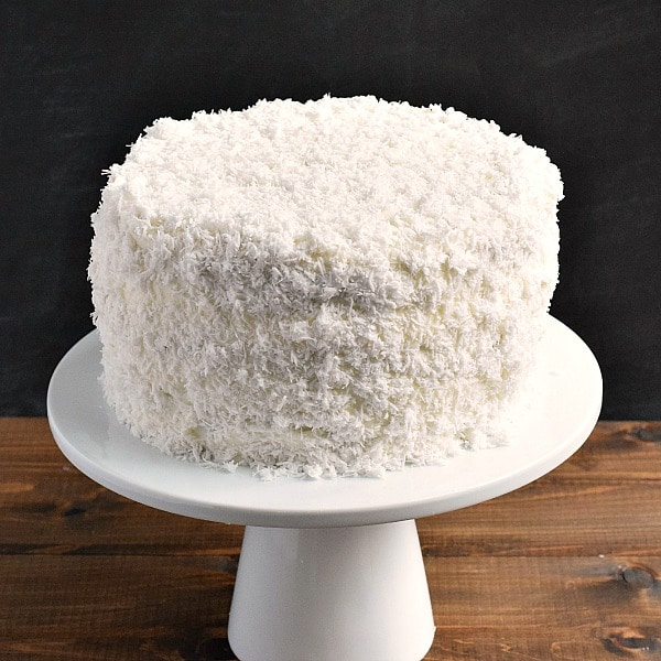 Coconut Cake With Sour Cream Frosting Recipe