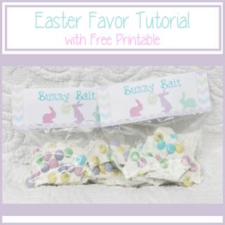 Easter Favor Bunny Bait {www.homemadeinterest.com}
