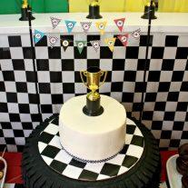 Race Car Birthday Party {www.homemadeinterest.com}