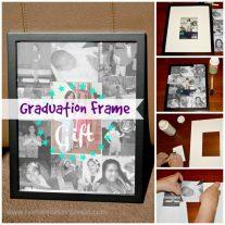 Graduation Frame {www.homemadeinterest.com}