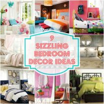 9 Sizzling Bedroom Ideas