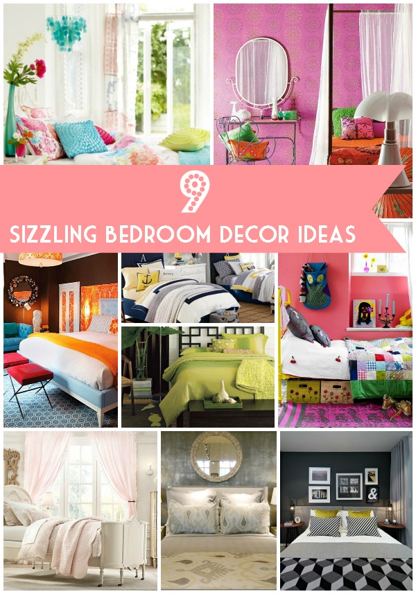9 Sizzling Bedroom Decor Ideas