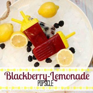 Blackberry-Lemonade Popsicle