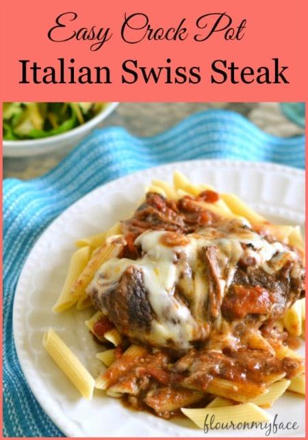 Easy-Crockpot-Italian-Swiss-Steak-flouronmyface-