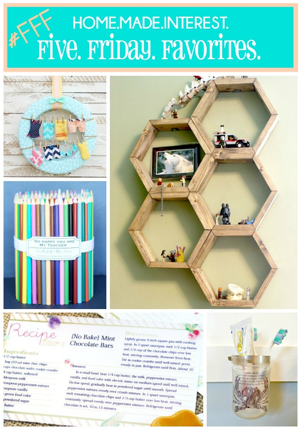 Favorite picks from Pinterest #1 {www.homemadeinterest.com}