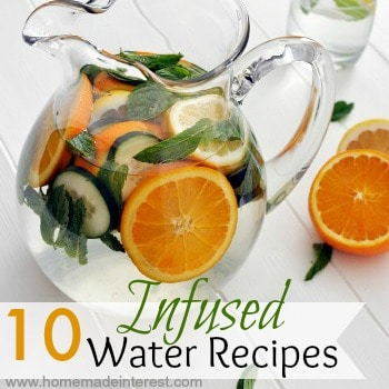 Infused Water Recipes featured
