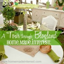 Tour Through Blogland {www.homemadeinterest.com}