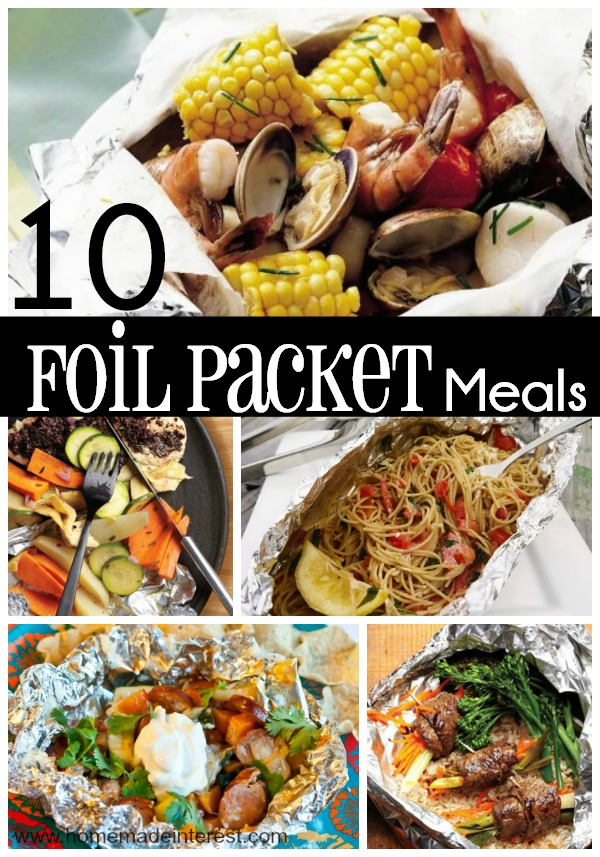 Foil Packet meals are a simple way to cook dinner on the grill, in the oven, or over a campfire. Foil Packet recipes are super easy and you can cook almost anything!