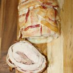 Bacon wrapped Pork Loin stuffed with Prosciutto & Provolone | HOME.MADE.INTEREST.