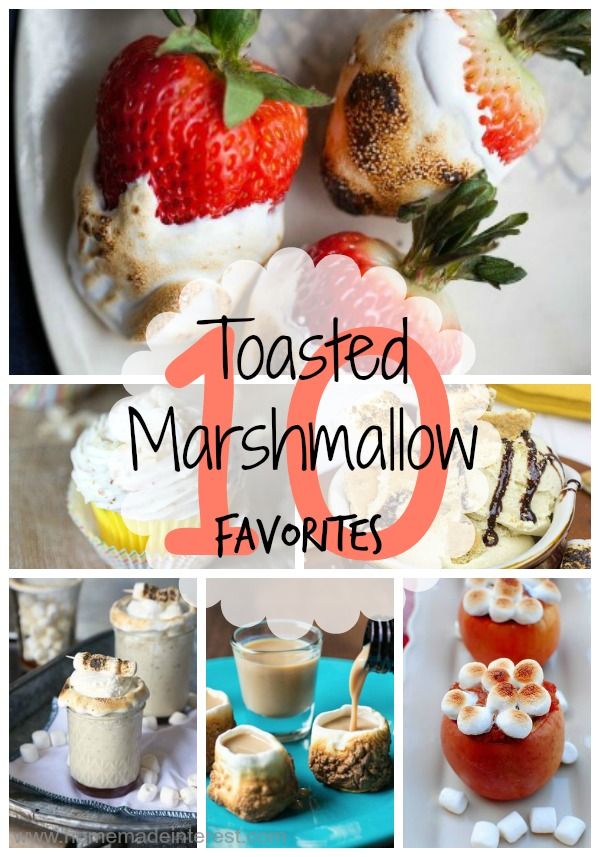 Celebrate toasted marshmallow day with one of these 10 toasted marshmallow recipes! Great for camping!