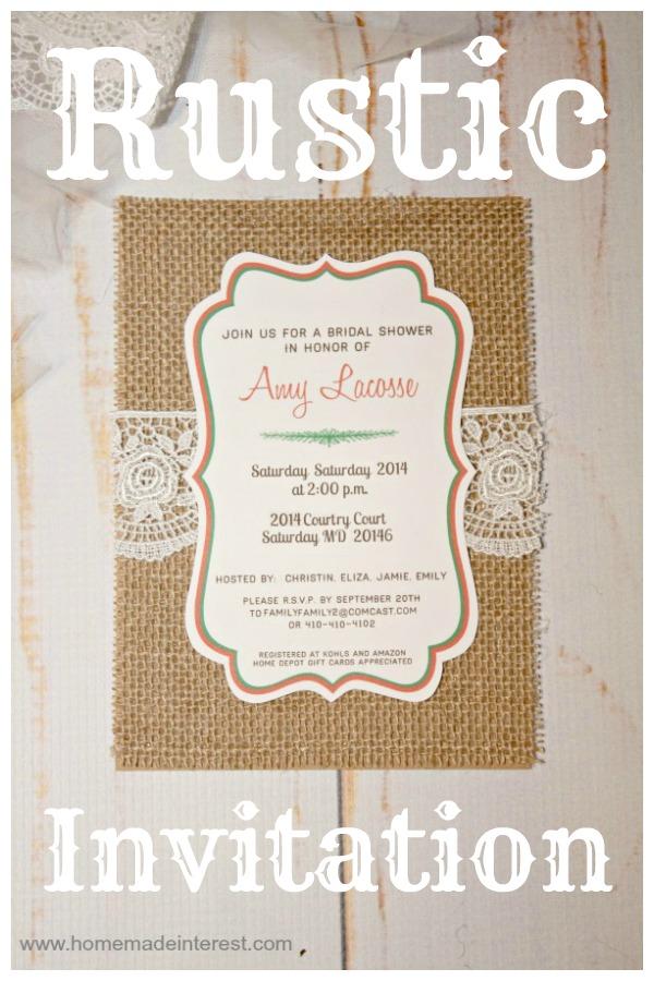 sunflower background wedding black bridal rustic shower invitations