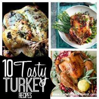 10 Tasty Turkey Recipes | Home. Made. Interest. #thanksgiving