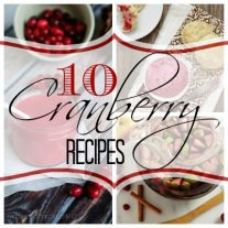 10 Cranberry Recipes | Home. Made. Interest.