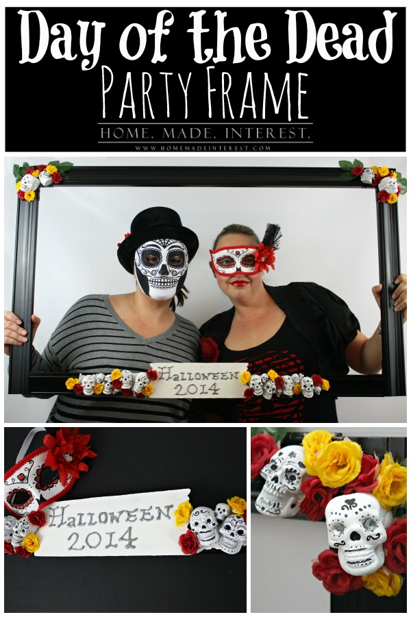 Day of the Dead Party Frame - Home. Made. Interest.