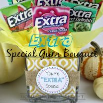 Give Extra, Get Extra - Say thank you with this Extra Gum Bouquet. A simple way to tell those that do so much for you how much you appreciate all they do for you. #ExtraGumMoments#shop
