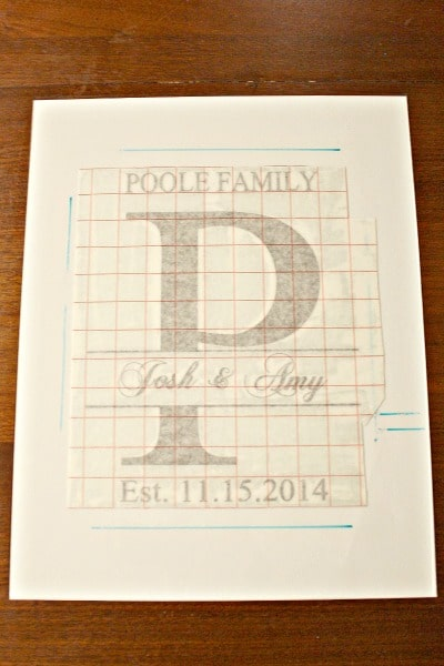 This easy craft is made with burlap and vinyl. The personalized monogram makes it the perfect gift for weddings, anniversaries, and Christmas. Homemade gifts mean the most!