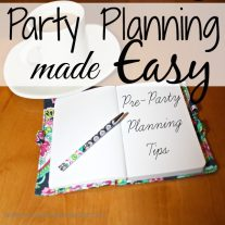 Party Planning Made Easy {www.homemadeinterest.com}