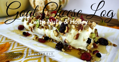Goat Cheese Appetizer with Nuts and Honey - Home. Made. Interest.