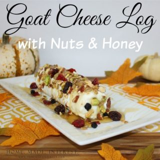 At my house the holidays are all about food. To keep things a little lighter we created this Goat Cheese Log recipe using all natural ingredients from Nature Box. It's easy, delicious and gluten free!, the perfect appetizer for parties, or snack to nibble on before dinner.