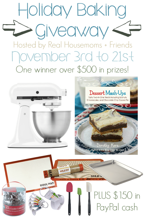 Holiday Baking Giveaway from the Real Housemoms Team