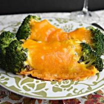 Broccoli casserole is an easy recipe that is the perfect side dish for a weeknight dinner or a holiday meal. I love to have it on Thanksgiving or Christmas (sometimes both!). With broccoli, mushrooms, sour cream, and cheddar cheese, it is creamy and delicious, even the kids will like this recipe!