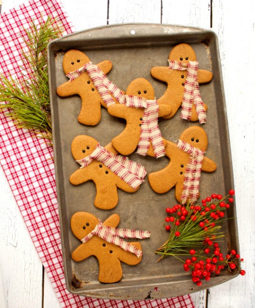 10 festive christmas cookie recipes home made interest httpthebearfootbaker201312gingerbread men forumfinder Image collections
