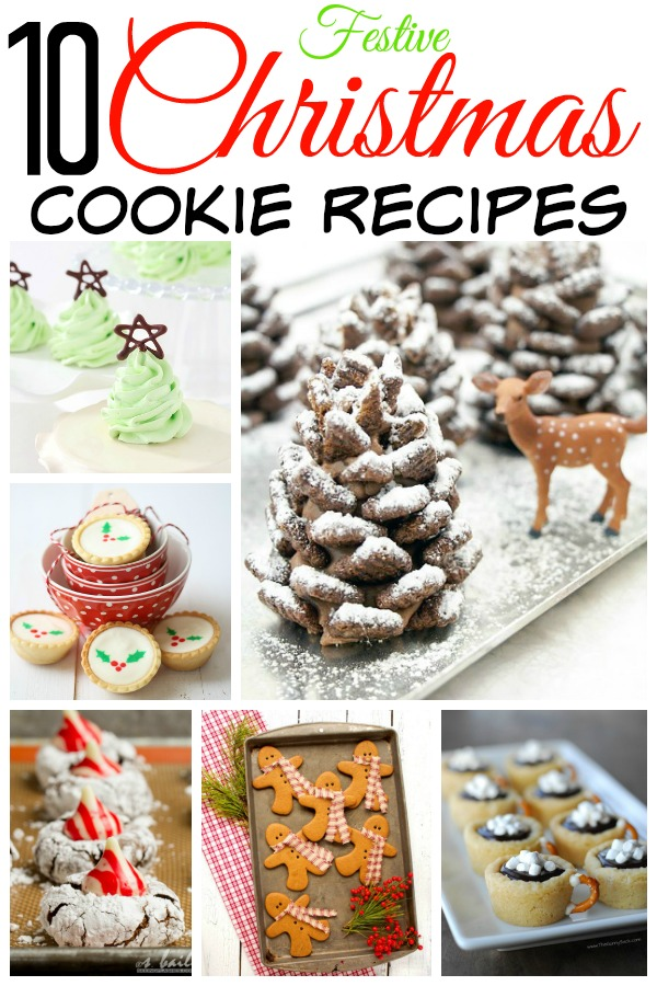 10 Festive Christmas Cookie Recipes | Home. Made. Interest.