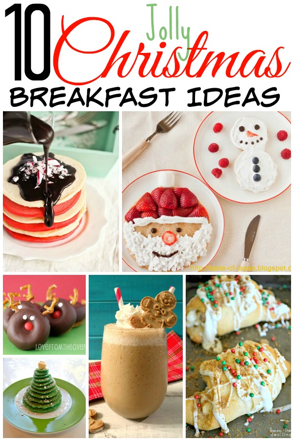 make your christmas breakfast festive and jolly with these