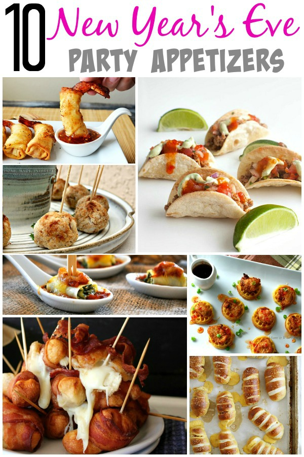 Lovely Dinner Ideas For New Years Eve Party Part - 6: Bite Size, Food On A Stick, Dips And Spreads
