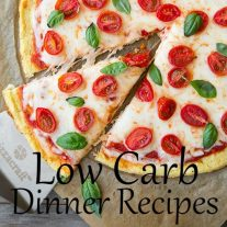 Melinda and I both follow a low carb lifestyle and low carb recipes like these have helped us stick to it without getting bored. These recipes will make sure you don't miss carbs at all!