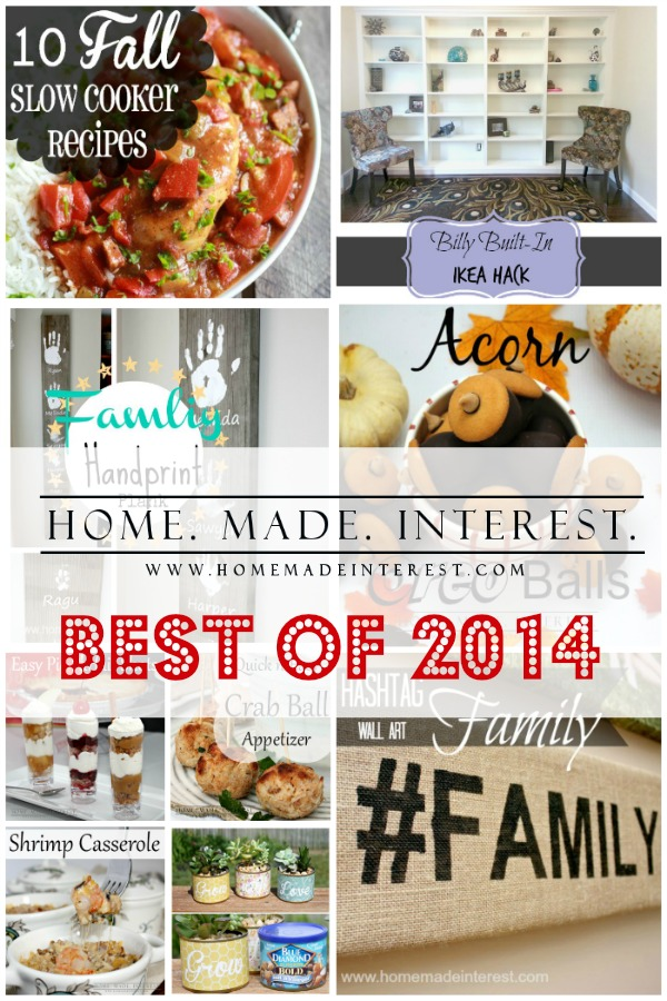 Some of the best projects from Home. Made. Interest. for 2014