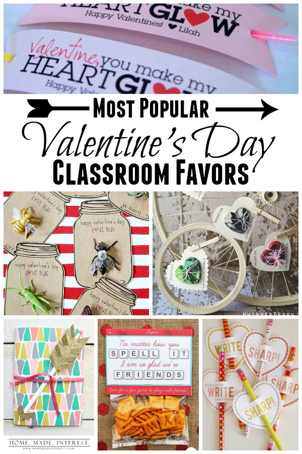 Most Popular Valentine S Day Classroom Favors Home Made Interest