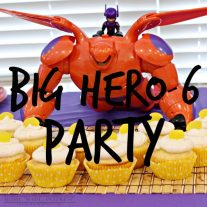 Great movie for kids birthday party theme, play date or snow day. Big Hero 6 will be this year's popular kid's party theme for sure!