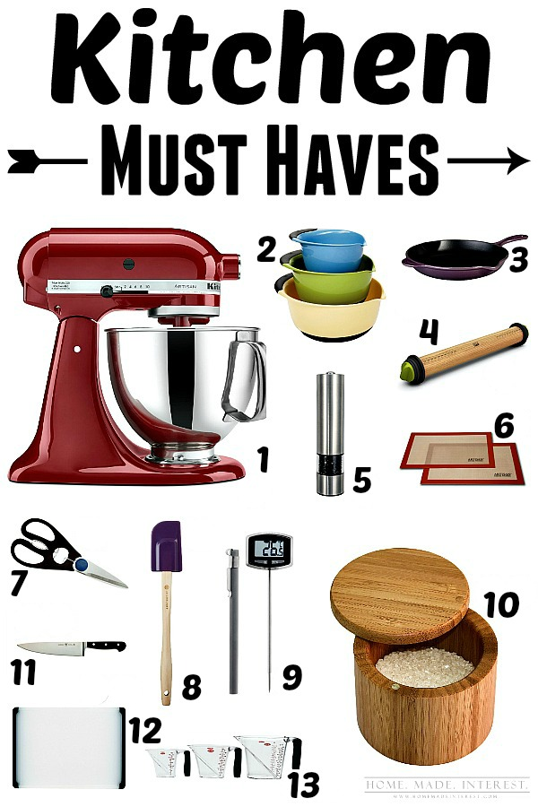 13 Items For Your Kitchen That You MUST HAVE! They Will Make Your Life So