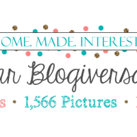 Home. Made. Interest.'s 1 Year Blogiversary