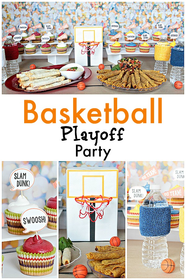 This simple and easy basketball treat bags craft is the perfect addition to any basketball-themed party!. This craft idea was created in partnership with Angie's BOOMCHICKAPOP®, popcorn and kettle corn featuring delicious flavors with simple ingredients from a founder who cares about creating great tasting, better-for-you snacks.