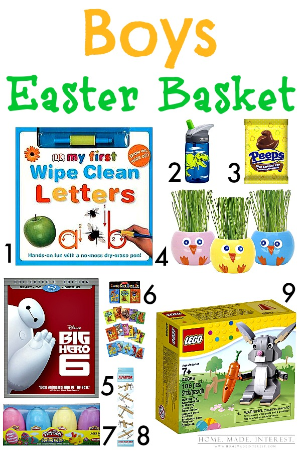 Kids easter basket ideas for little boys girls home made be prepared this easter by having all your kids easter baskets done early filled negle Choice Image