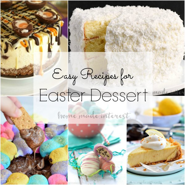 Easy Easter Dessert Recipes That You Can Enjoy With Your Family After Dinner