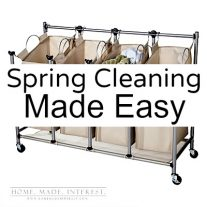 Make Spring Cleaning & Organization easy this year by having what you need on hand.